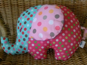 Spotty elephant for Louise